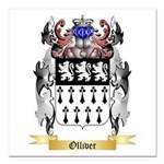 Olliver Square Car Magnet 3