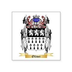 Olliver Square Sticker 3