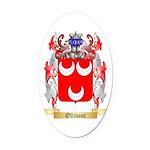Ollivant Oval Car Magnet