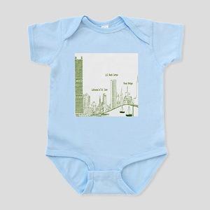 Milwaukee Skyline Green Body Suit