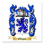 Olligan Square Car Magnet 3