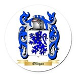 Olligan Round Car Magnet