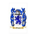 Olligan Sticker (Rectangle 50 pk)