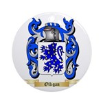 Olligan Round Ornament