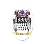 Ollier Oval Car Magnet