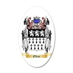 Ollier 35x21 Oval Wall Decal
