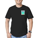 Olleshaw Men's Fitted T-Shirt (dark)