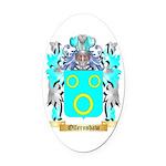 Ollernshaw Oval Car Magnet