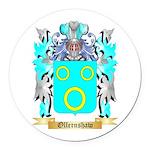 Ollernshaw Round Car Magnet