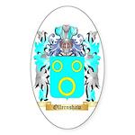 Ollernshaw Sticker (Oval 50 pk)