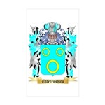 Ollerenshaw Sticker (Rectangle 10 pk)