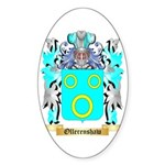 Ollerenshaw Sticker (Oval 50 pk)