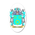 Ollerenshaw 35x21 Oval Wall Decal