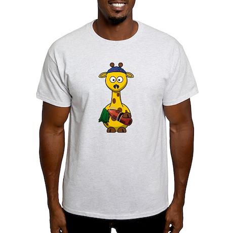 Swimmer Giraffe T-Shirt