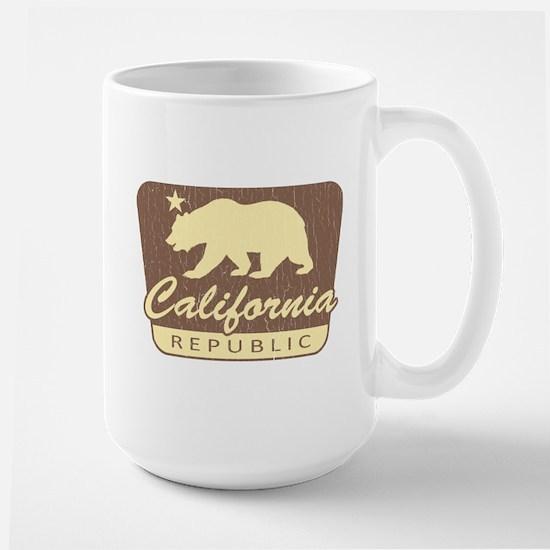 California Republic (vintage park style) Mugs