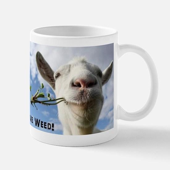 Weed Goat Mugs