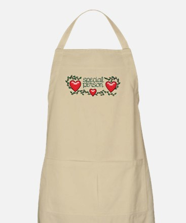 Hearts and Vines Special Person Apron