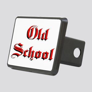 Old School Rectangular Hitch Cover