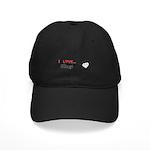 I Love Bling Black Cap