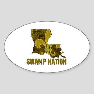 Louisiana Swamp Nation Sticker