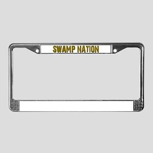Louisiana Swamp Nation License Plate Frame