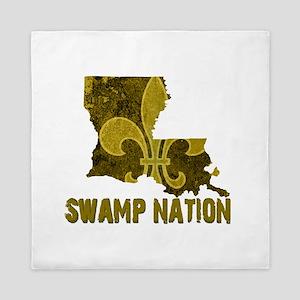 Louisiana Swamp Nation Queen Duvet