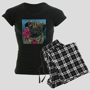 Pug Valentine pajamas