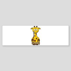 Wild Giraffe Bumper Sticker