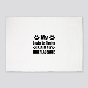 Bouvier Des Flandres is simply irre 5'x7'Area Rug