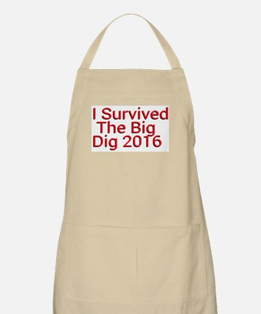 I Survived The Big Dig 2016 Apron