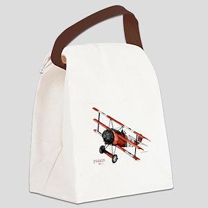 Fokker DR 1 1917 Canvas Lunch Bag