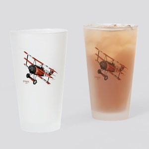 Fokker DR 1 1917 Drinking Glass