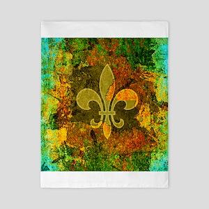 Louisiana Rustic Fleur de lis Twin Duvet