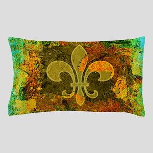 Louisiana Rustic Fleur de lis Pillow Case