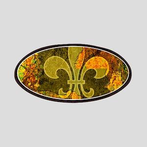 Louisiana Rustic Fleur de lis Patch