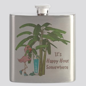 It's Happy Hour Somewhere Flask