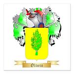 Olivero Square Car Magnet 3