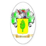 Olivero Sticker (Oval 50 pk)