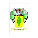 Olivero 35x21 Wall Decal