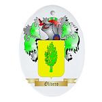 Olivero Oval Ornament