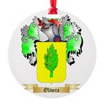 Olivera Round Ornament