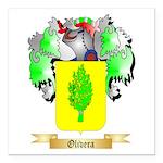 Olivera Square Car Magnet 3