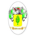 Olivera Sticker (Oval)