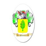 Olivera 35x21 Oval Wall Decal