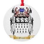Oliver Round Ornament