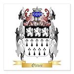 Oliver Square Car Magnet 3
