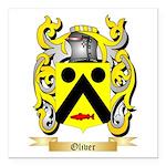Oliver (Limerick) Square Car Magnet 3