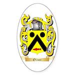 Oliver (Limerick) Sticker (Oval 10 pk)