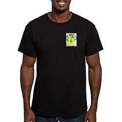Olivas Men's Fitted T-Shirt (dark)