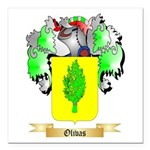 Olivas Square Car Magnet 3